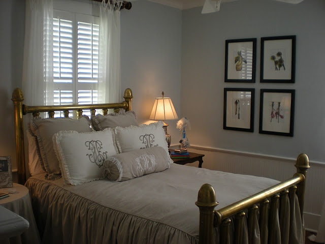 peaceful bedroom great bed cover with pleating at the