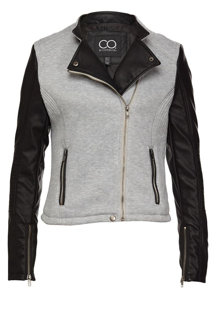 Biker Jacket from @Cotton On  at @Westfield New Zealand #sportsluxe