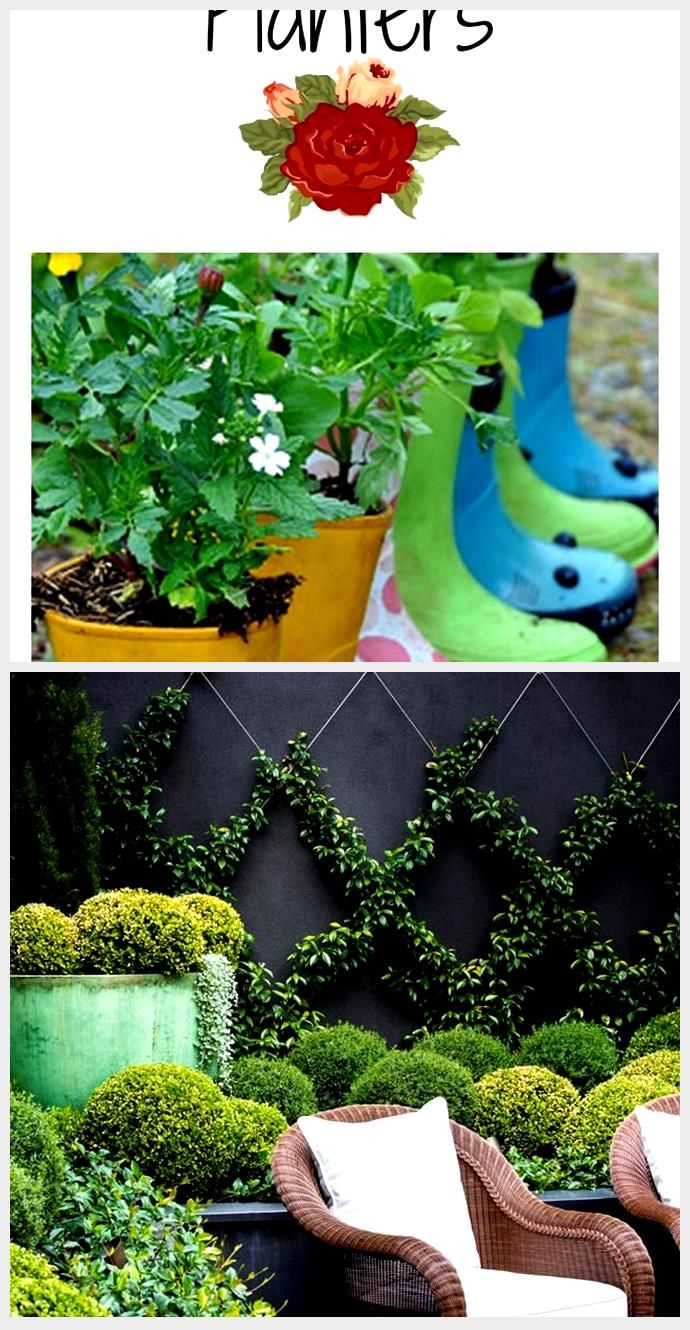 10 Creative Diy Garden Planters From Upcycled Finds Creative