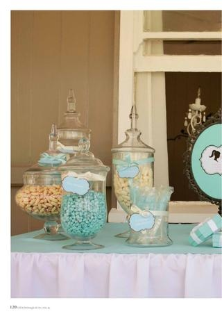 Tiffany colours! Inspired Lolly Buffet