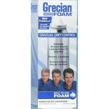 Just For Men Grecian 2000 Foam Gradual Grey Control  £6.80 (FREE UK Delivery)  http://www.123hairandbeauty.co.uk/hair-products-c1/mens-c8/just-for-men-grecian-2000-foam-gradual-grey-control-p544