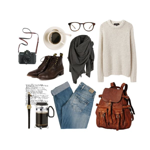 A fashion look from February 2017 featuring Isabel Marant sweaters, Pepe Jeans London jeans and F-Troupe boots. Browse and shop related looks.