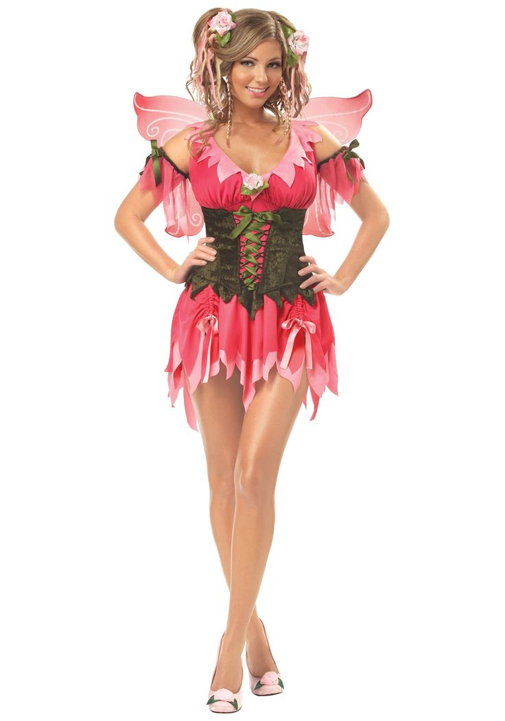 adult rose fairy costume we would need to make this one less slutty