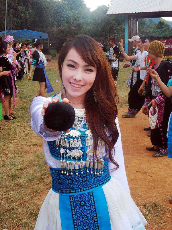 Hmong cute girl's