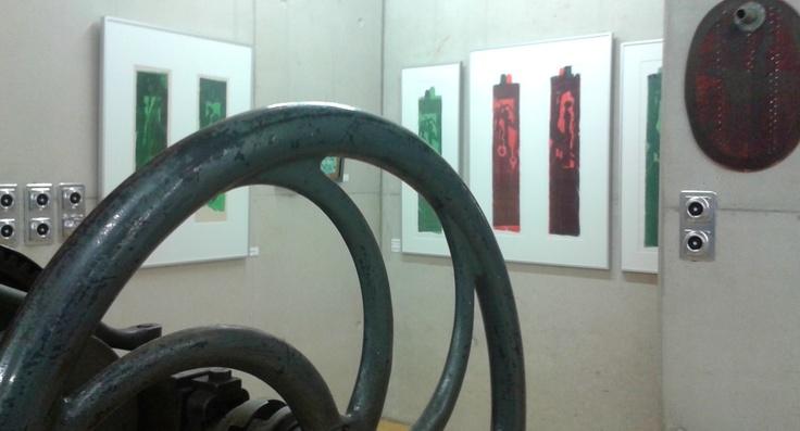 #GertKoch – Beim Abend des offenen #Ateliers in #Gomadingen – es war sehr schön! #Holzschnitt #Künstler #Holzschneider #Holzschnittwerke #Kunst #Drucke #Ausstellung #Hochdruckgrafik #Skulptur