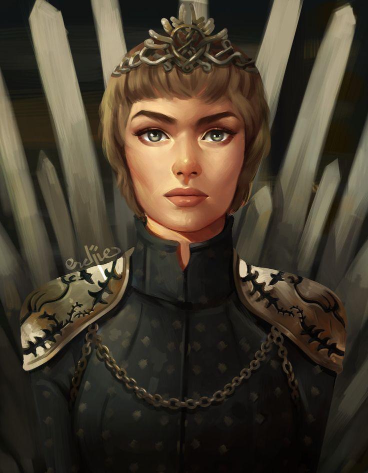 ArtStation - Queen Cersei Lannister, Erdjie Bund