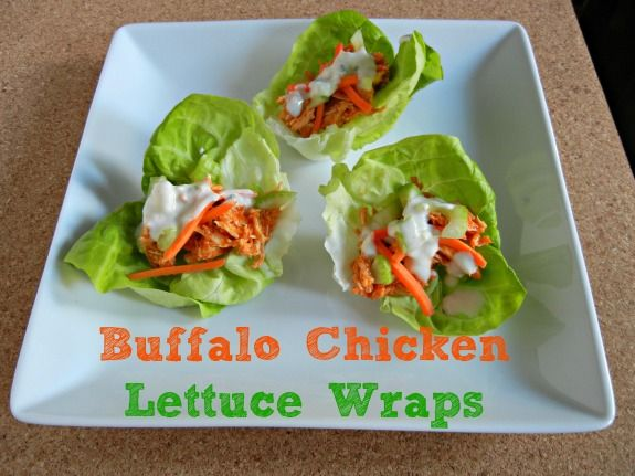 buffalo chicken wraps chicken lettuce wraps primal recipes low carb ...