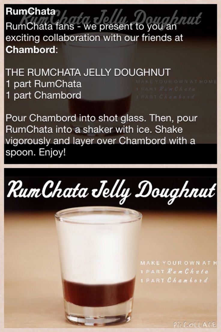 RumChata Jelly Doughnut shot | Dranks | Pinterest | Jelly