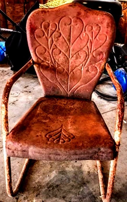 458 Best Antique Metal Chairs I Love Love Love Images On