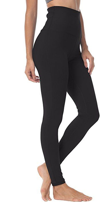 b802038b8989a Amazon.com: Queenie Ke Women Yoga Legging Power Flex High Waist Running  Pants Workout Tights Size S Color Black: Clothing