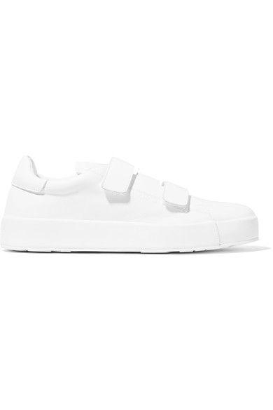 Jil Sander - Leather Sneakers - White - IT35