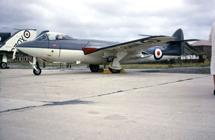 Hawker Sea Hawk Mk3 WM915 at RNAS Daedalus August 1962