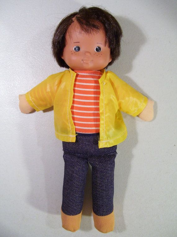 Vintage Fisher Price Kids My Friend Mikey Doll, 1978