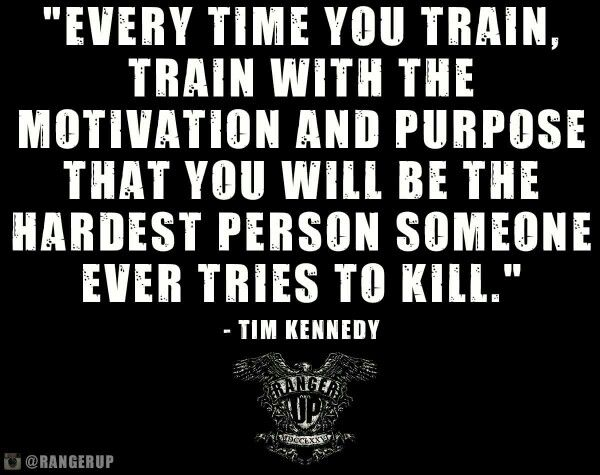 Train with motivatiin....