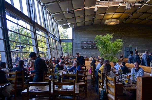 The restaurant at Stone Brewing Company, Escondido, CA. A full tour of North County San Diego Breweries: http://www.everintransit.com/north-county-san-diego-brewery-tour/