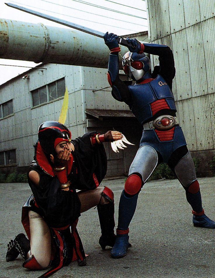 高畑淳子さん『諜報参謀マリバロン(仮面ライダーBLACK RX)』