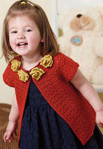 Anna Cardigan: free crochet pattern