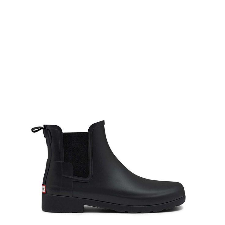 Refined Chelsea - Black – Hunter Boots Australia