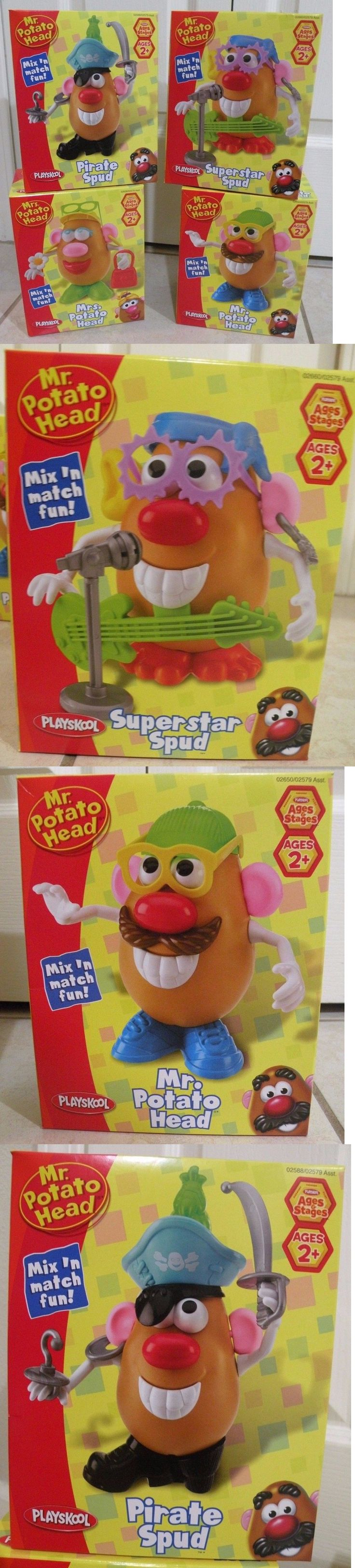 Playskool 2576: New - Lot Of 4 - Playskool Mr Potato Head -> BUY IT NOW ONLY: $32.98 on eBay!