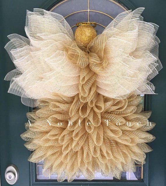 Tutorial de corona de ángel, ángel de bricolaje, cómo hacer una corona de ángel, por un toque noble