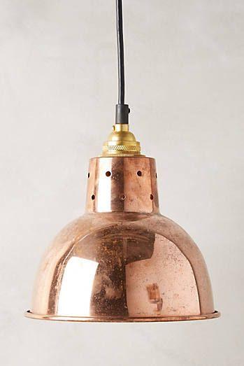 Spun Reflector Pendant Lamp