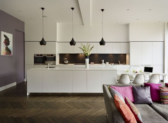 Family entertaining space, bulthaup by Kitchen Architecture