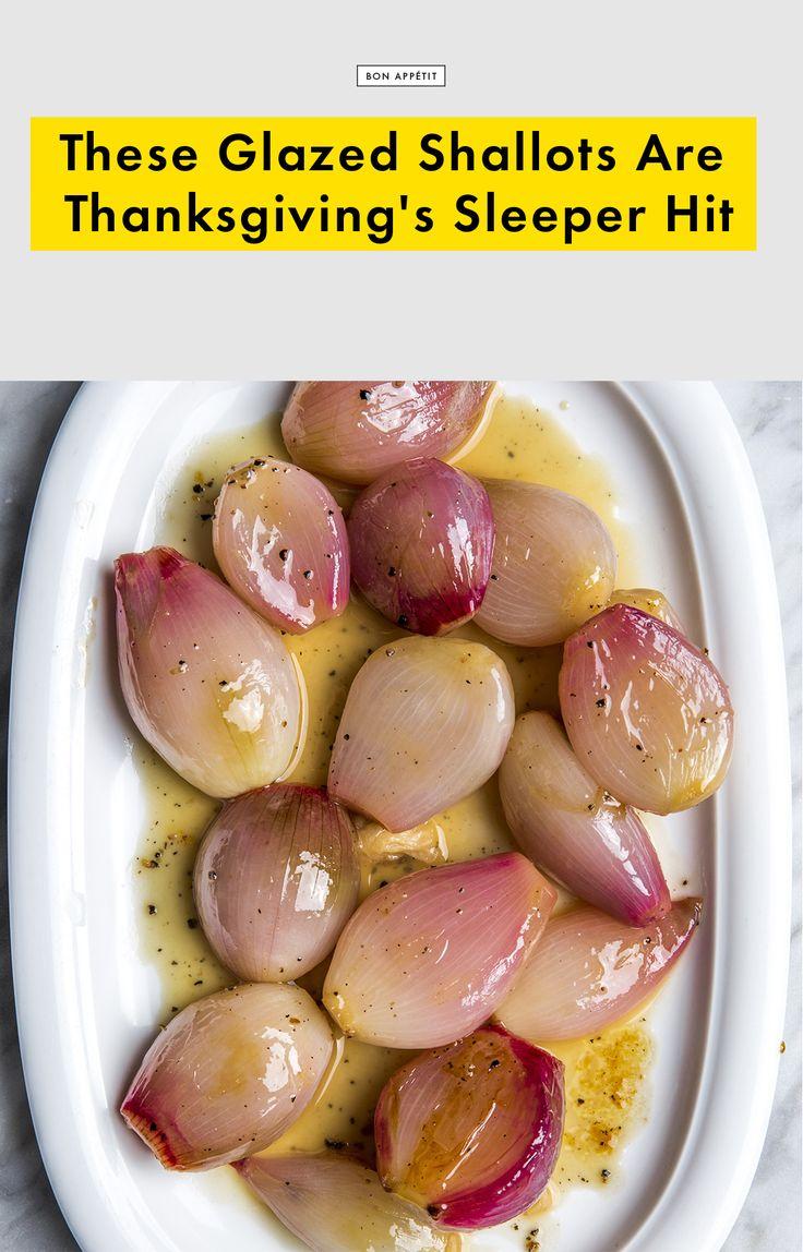 These Glazed Shallots Are Thanksgiving's Sleeper Hit Recipe | Bon Appetit