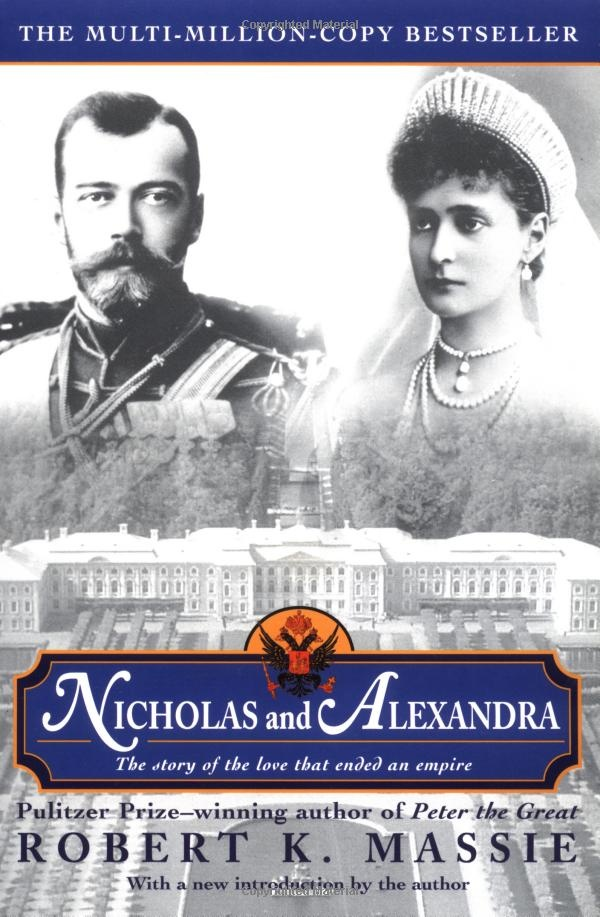 "Terrific book!  Nicholas and Alexandra had one of the few ""love match"" royal marriages during that day and age.  I love reading biographies, because I learn so much history from them."
