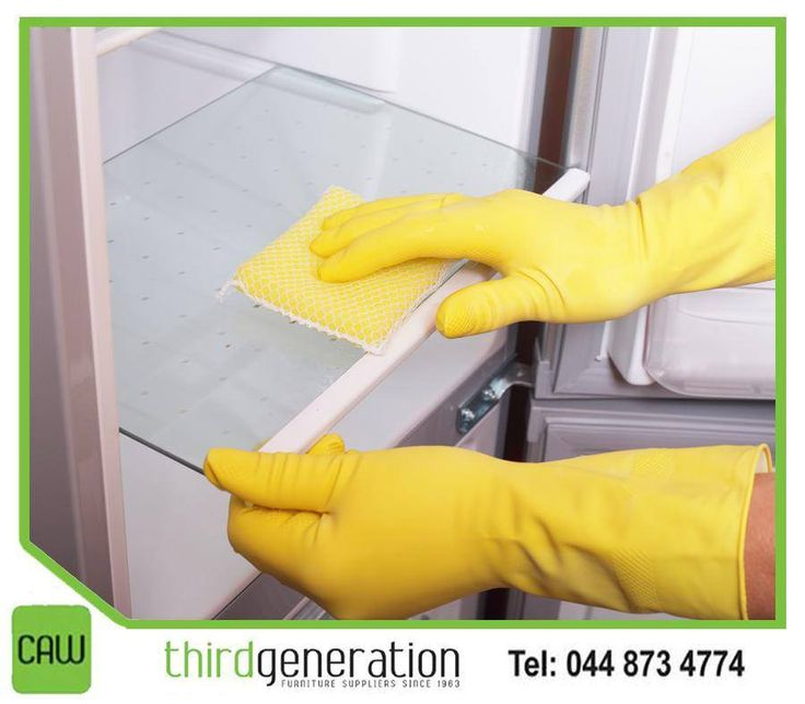 #Lifehack: Keep your fridge sparkling. The big mystery of the fridge is: How do the shelves get so grimy, if nothing has spilled? You won't have to scrub them again if you first line your shelves with clear plastic wrap after cleaning. #ThirdGenerationCAW