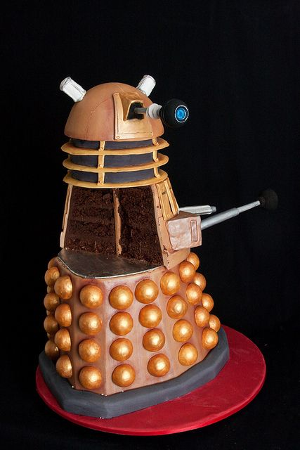 A gallery of Dalek and other Doctor Who Monster cakes.  DELICIOUS.  DELICIOUS.  DELICIOUS.