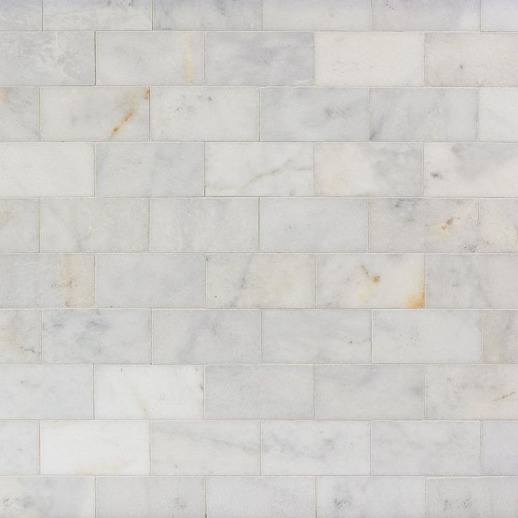 Regal White Marble Tile - 3in. x 6in. - 100246016 | Floor and Decor