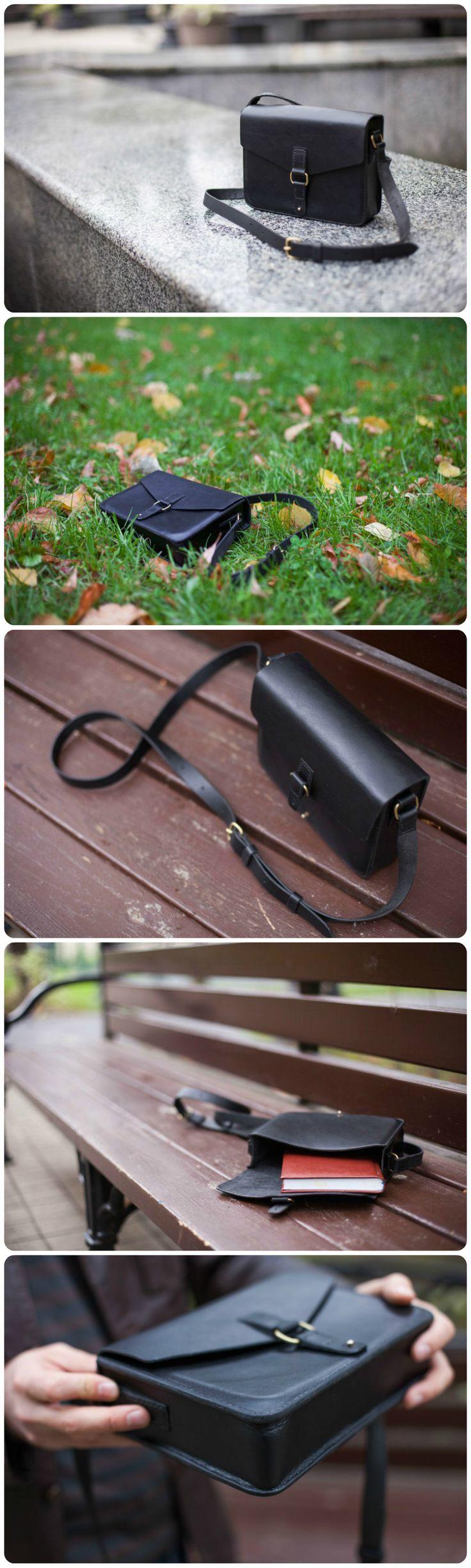 Leather Bag. Кожаная сумка