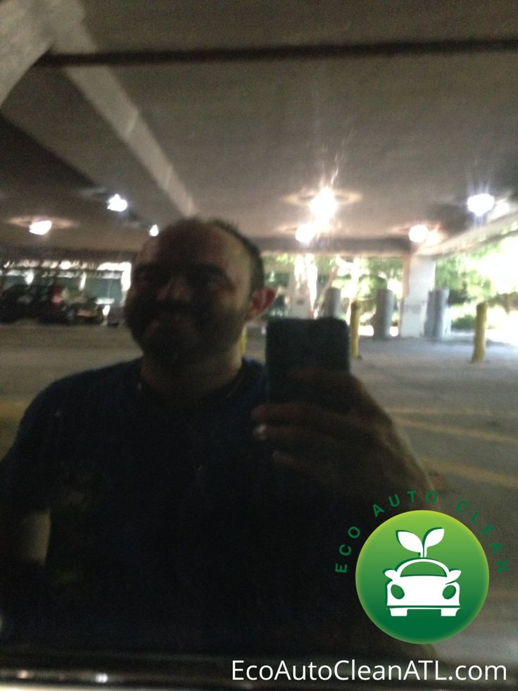 Eco Auto Clean Atlanta Selfie After waterless wash and