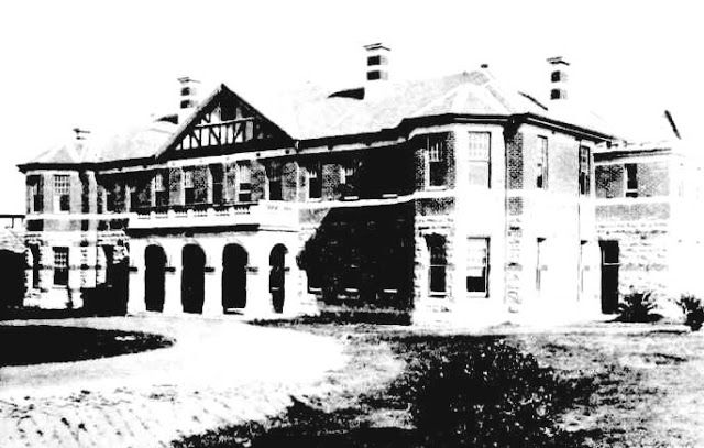 The Administration Block Claremont Hospital for the Insane, Western Australia, 1912