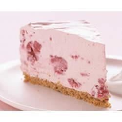 This refreshing, frozen raspberry cheesecake will impress your guests.