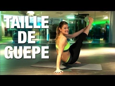 Fitness Master Class -  Taille fine - Lucile Woodward - YouTube