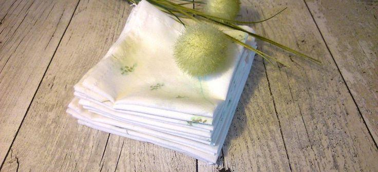 DIY : coudre des mouchoirs en coton | Une vie verte