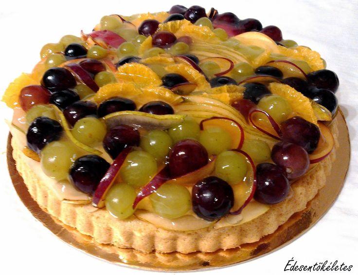 Édesentökéletes: Diétás Gyümölcstorta