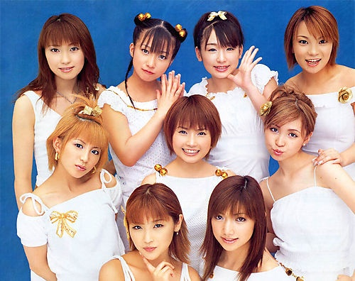 Morning Musume (circa 2001). This is the group that got me into the JPop fandom back when I was in high school. Before them, all I knew were anime theme songs.