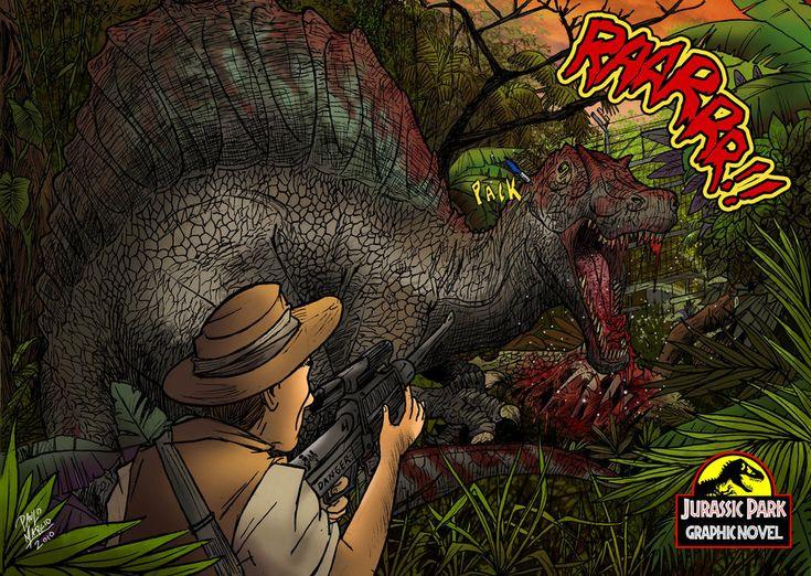 Spinosaurus jurassic park by pauloomarcio on deviantart jurassic park pinterest parks art - Spinosaurus jurassic park ...
