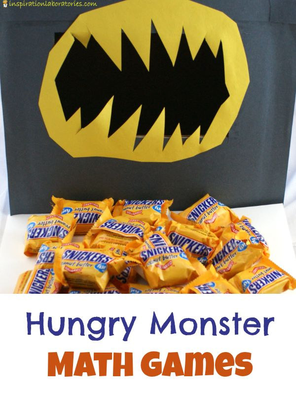Practice counting, addition, and comparing number values with this fun hungry math game sponsored by SNICKERS®. #WhenImHungry