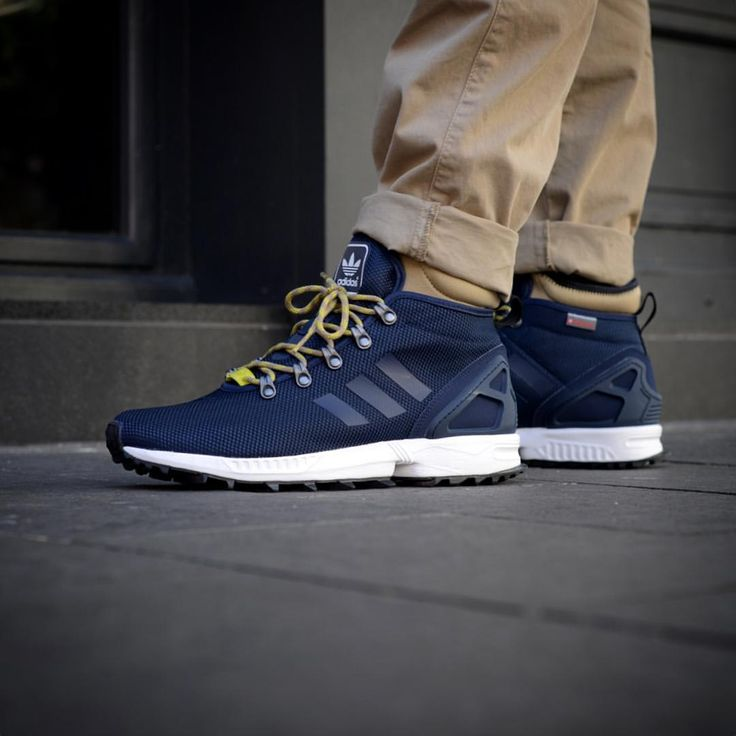 adidas Originals ZX Flux Winter: Collegiate Blue · Shoes ...