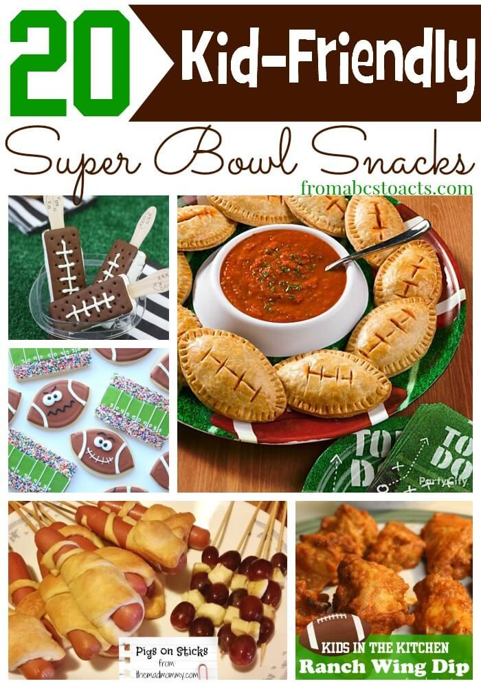 On game day, it's all about the snacks! And with these kid-friendly Super Bowl snack ideas, you'll keep even the littlest of your football fans happy!
