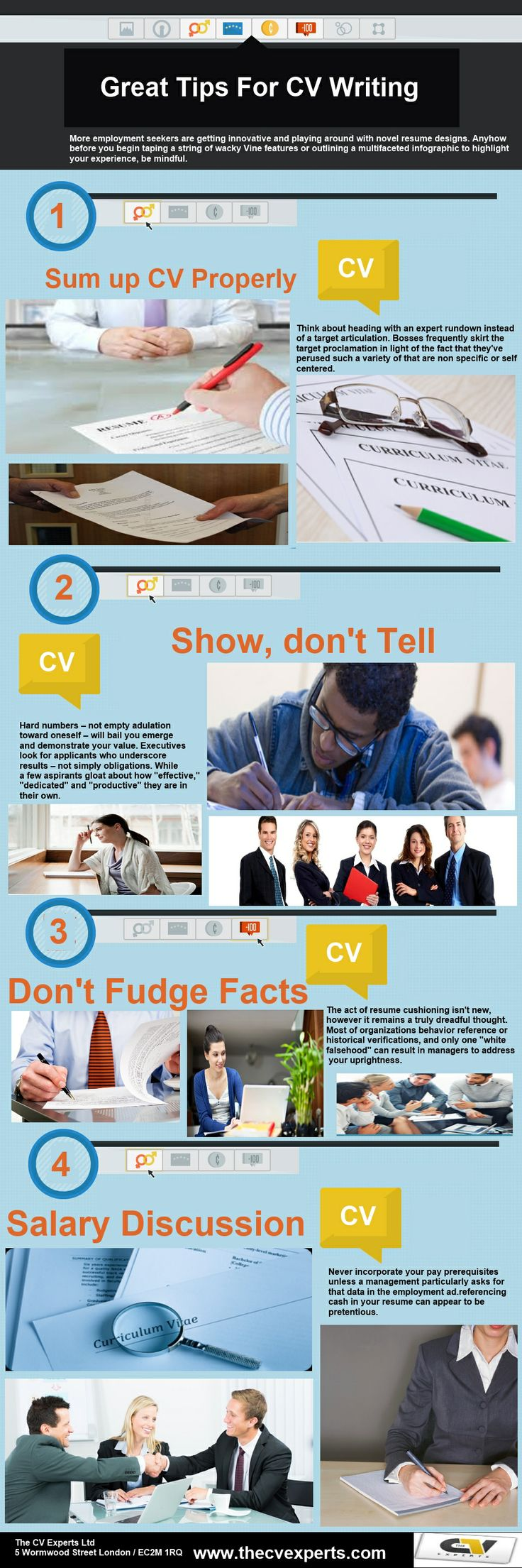 CV Writing is equally important like your studies till now because results of studies depends on your CV that what kind of CV you are going to make . So visit here to know about professional CV : http://www.thecvexperts.com/professional-cv/