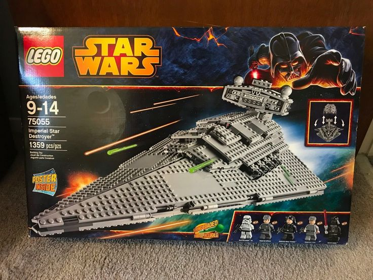 Lego Star Wars  75055 Imperial Star Destroyer  Brand New in Sealed Box