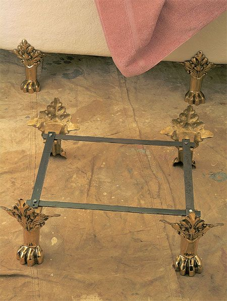 Refinishing A Clawfoot Tub Clawfoot Tub Replacement Feet
