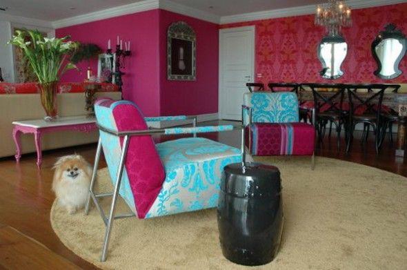 Vintage sofa and carpet apartment design by nezacesar