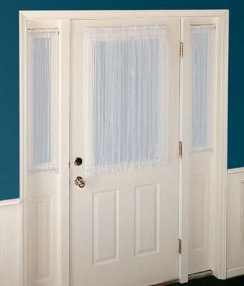 Attractive Sidelight Curtains And Sidelight Panel Curtains For Your Doors. Quality Sidelight  Window Curtains At Country Curtains. Sidelight Curtains For Your Front ...