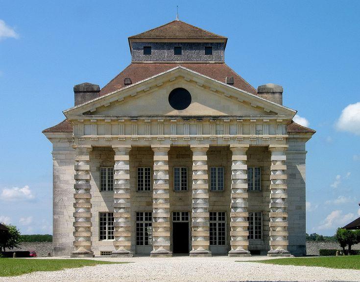De Koninklijke Zoutstad Arc-et-Senans ~ Woning van de directeur ~ 1773-1775 ~ Arc-et-Senans, Doubs