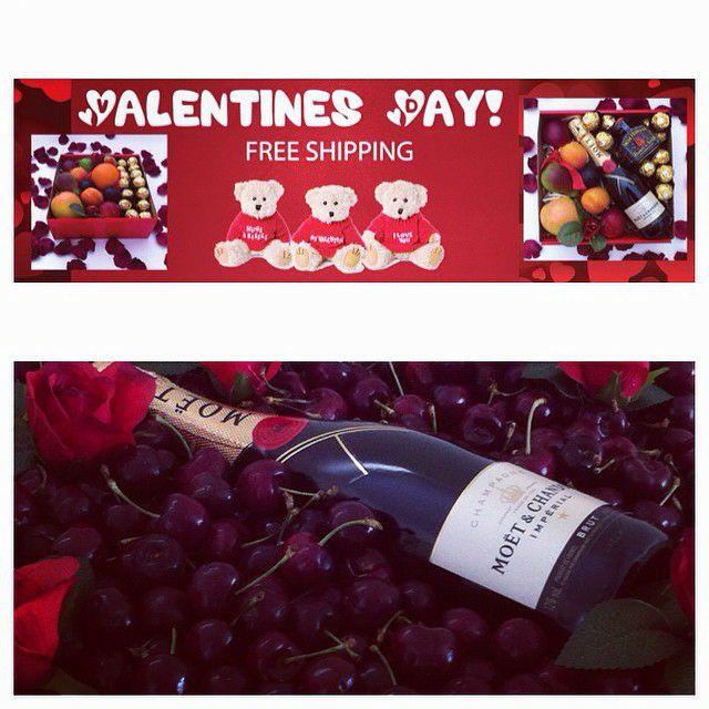 Fruit Hampers for Valentines Day #fruithampers #fruitbaskets #fruithamperssydney #fruithampersaustralia #igiftFRUITHAMPERS #gifts #gifthampers #freedelivery #fruit #moet #luxurygifts #luxury #cherries #valentine #valentinegifts #australia #giftsaustralia